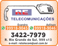 Apucarana Lateral - RE Telecomunicacoes